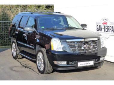 NOUVEAU +++ Cadillac Voiture d'occasion: Cadillac Escalade 6.2 V8 Sport Luxury LPG 7 Sitzer TV 22 für 23890 € +++ Les meilleures offres | 4x4, 125000 km, 2009, Essence, 409 CV, Noir | 138836641 | auto.de