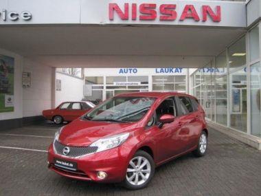 NOUVEAU +++ Nissan Voiture d'occasion: Nissan Note 1.5 dCi tekna NAVI/SAFETY SHIELD/ TEILLE für 11479 € +++ Les meilleures offres | Minibus/Monospace, 23321 km, 2014, Diesel, 90 CV, Rouge | 138009950 | auto.de