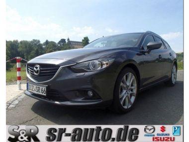 NOUVEAU +++ Mazda Voiture d'occasion: Mazda 6 (vor Upgrade 2015) SKYACTIV-D 150 i-ELOO für 19980 € +++ Les meilleures offres | Break, 26250 km, 2015, Diesel, 150 CV, Gris | 129549698 | auto.de