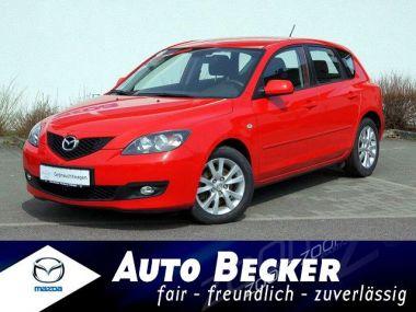NOUVEAU +++ Mazda Voiture d'occasion: Mazda 3 Klimaautomatik + Tempomat + 6-Gang für 7770 € +++ Les meilleures offres | Citadine, 93000 km, 2007, Diesel, 143 CV, Rouge | 138817366 | auto.de