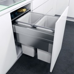 Blum Kitchen Bins Rug Sets Hafele M D Online Hinges And Drawer Systems 503 17 522 Pull Out Waste Bin For Cabinet Wdith 450 Mm