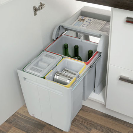 blum kitchen bins island cart ikea 502 13 503 for cabinet width min 450 mm 50213503 74 37 m d