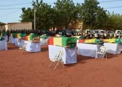 Théâtre Centre de l'Opération Maliko: Les derniers hommages de la nation aux soldats tombés sur le champ d'honneur