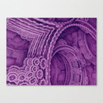 """Gothic Gears"" - Matthew Haggett - Museum Wrap Stretched Canvas"