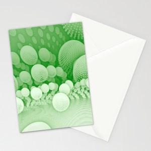 """""""Sub Orbit"""" - Mandelbulb Art - Matthew Haggett - Greeting Card"""