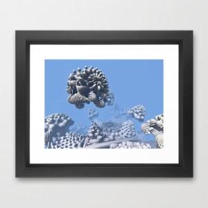 """Stone Frog"" Matthew Haggett, Framed Art Print."