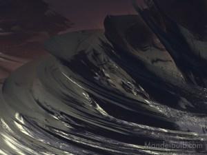 """Mesa Diablo III"" 3D Fractal Art, By Kurt Dahlke, 2012"