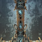 """Riddle Totem"", by Hal Tenny"