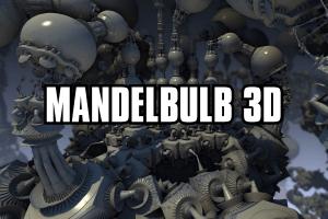 Mandelbulb 3D fractal rendering software
