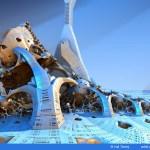 """Lunar Arctic Biosphere"" by Hal Tenny"