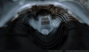 """A Hole"" by Marc Vanlindt. 3D fractal art created with Mandelbulb 3D."