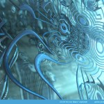 """Greeky"" by Marc Vanlindt. 3D fractal art created with Mandelbulb 3D."