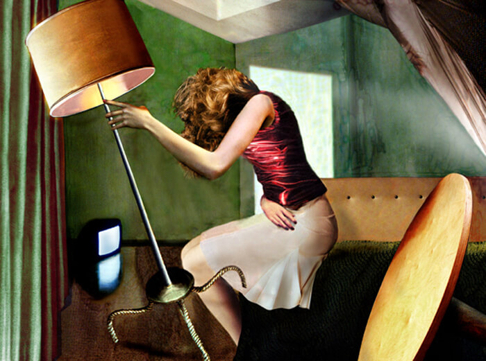Luisa Raffaelli, Armored life 1, Fotopittura digitale