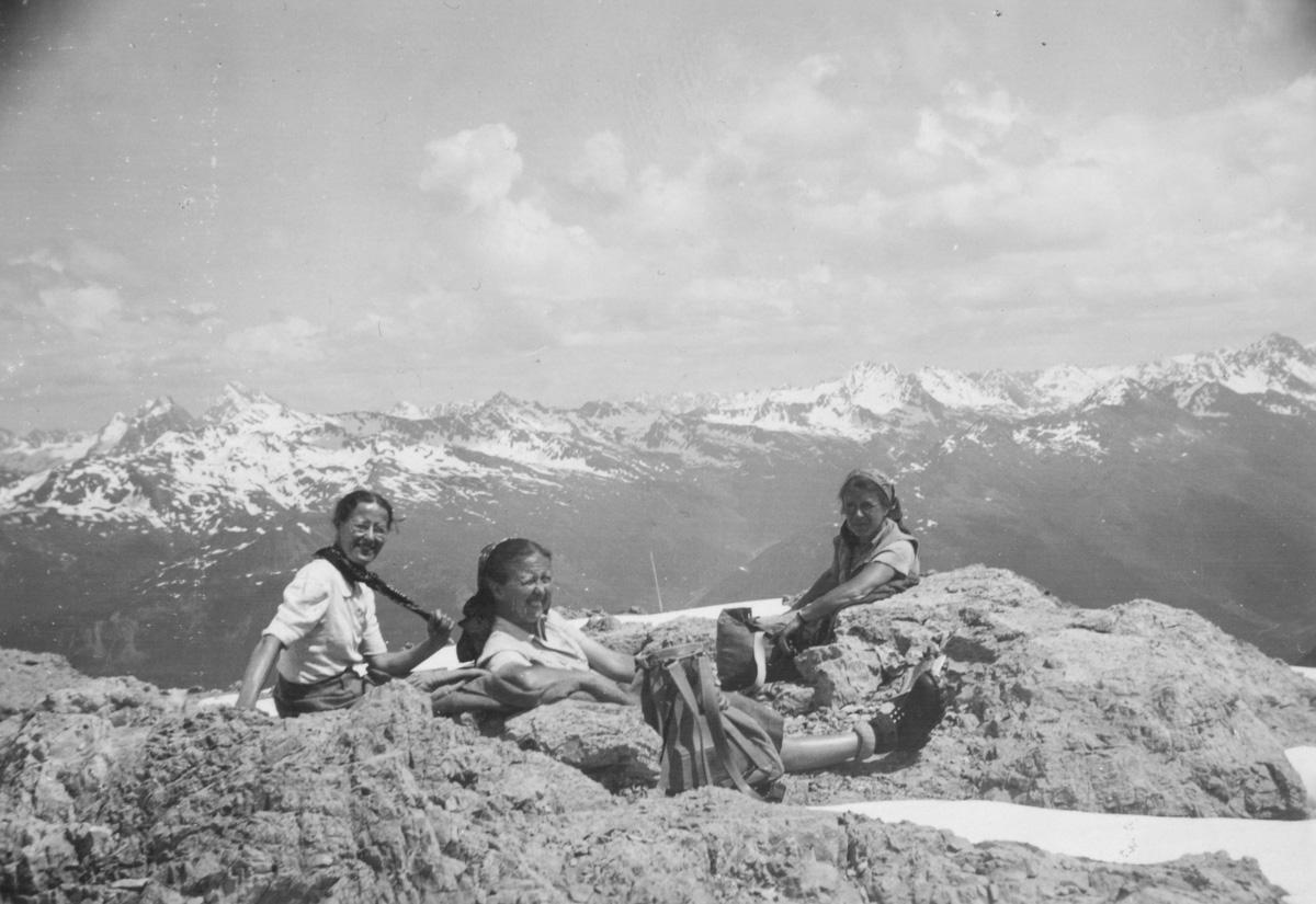 Weissfluhgipfel, le 30 juin 1946