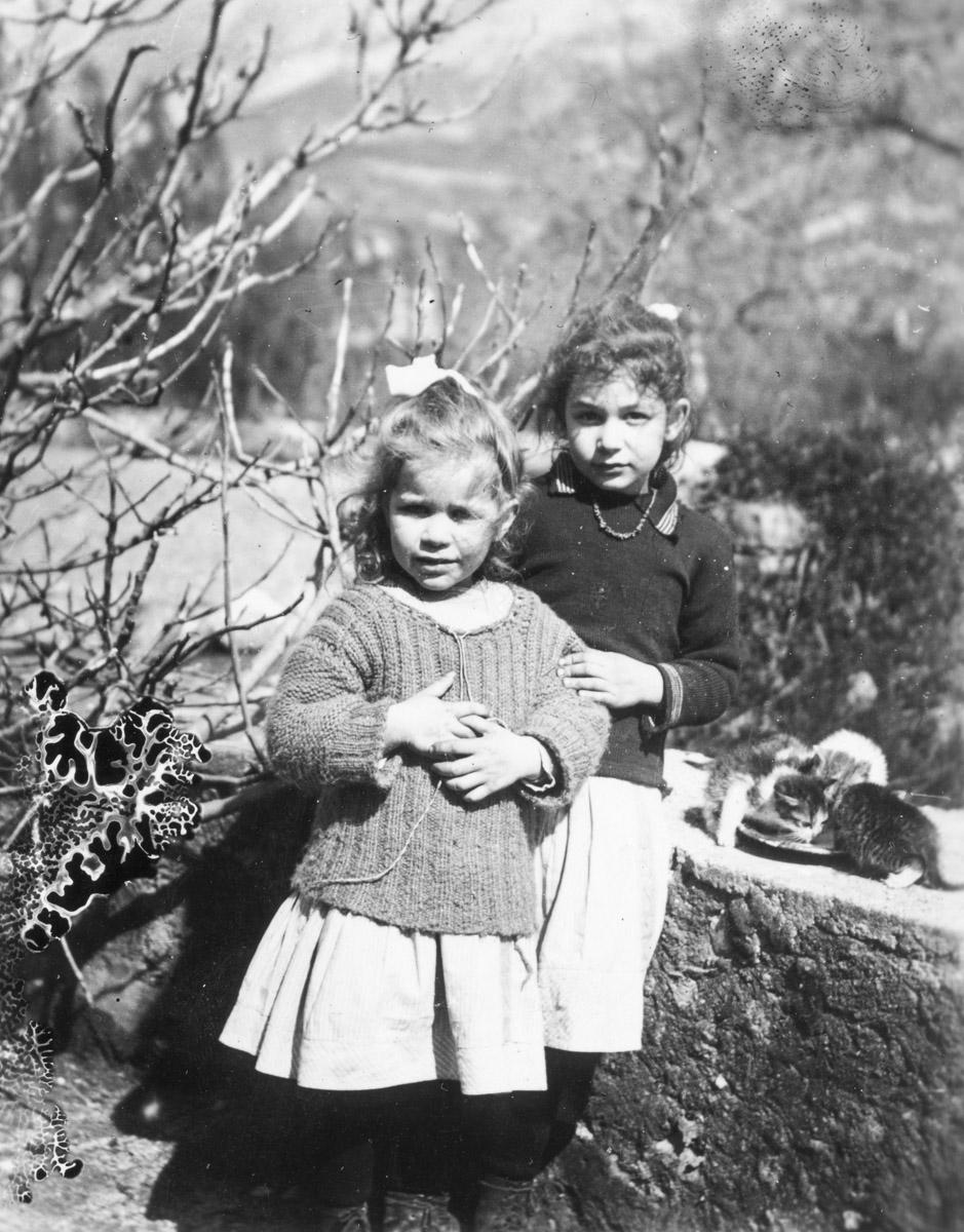 Hélène à droite et Liliane à gauche