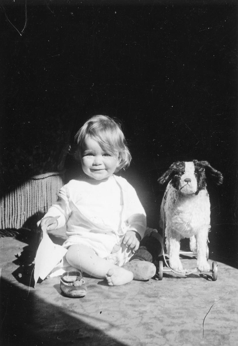 Liliane et son fidèle chien... à roulettes...