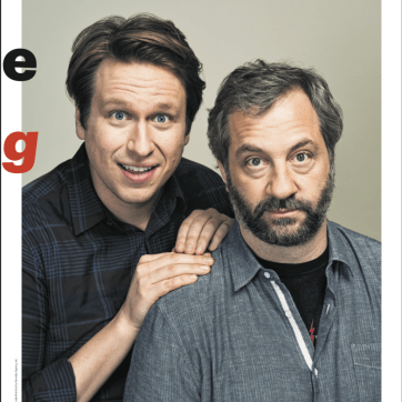 Grooming on Pete Holmes and Judd Apatow for Village Voice.