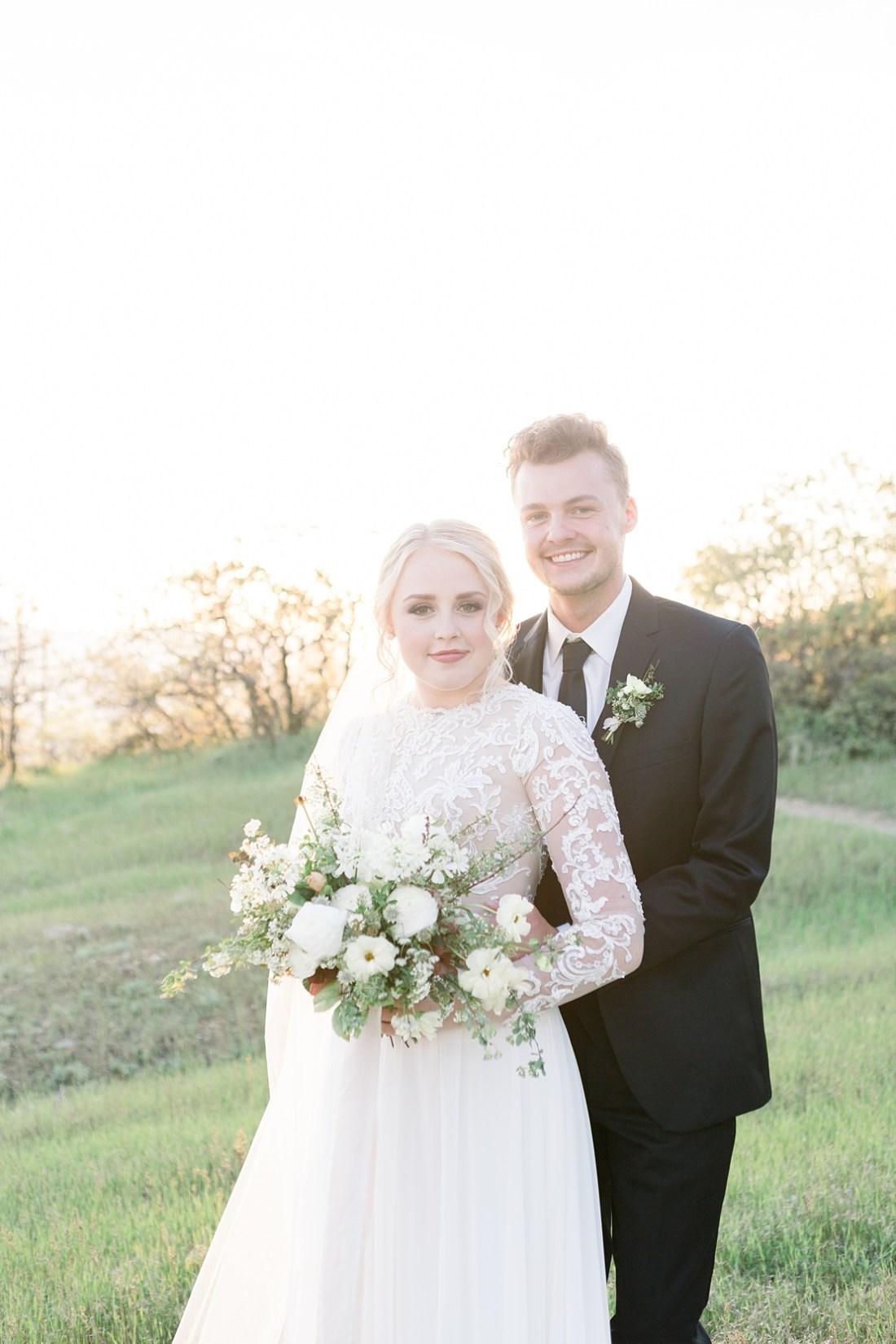 summer bridal session