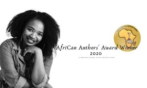 Black woman with afro author of Anathi A lifeless womb