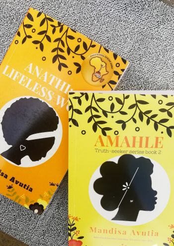 Anathi a lifeless womb and Amahle the love you seek, the truth seeker series by mandisa avutia, self published south african woman author, black female author