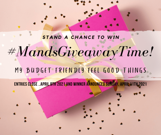 Mands give away time budget friendly feel good things