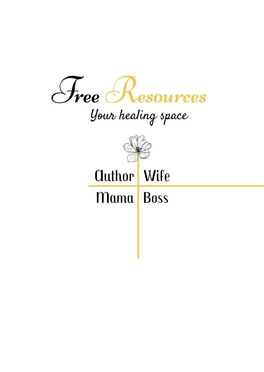 Free resources for healing your trauma, parenting tips, marriage tips and healing the self