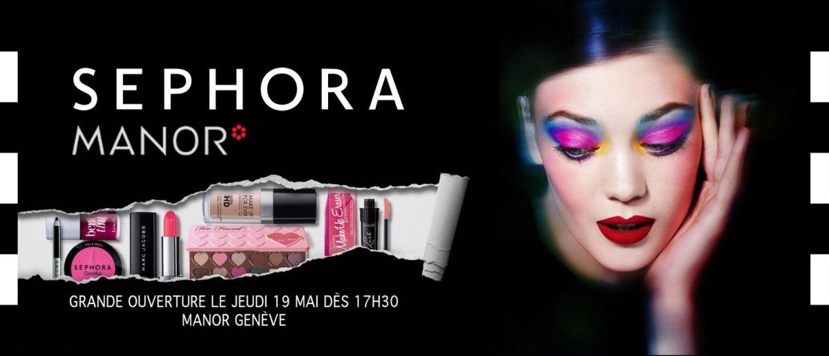 Sephora à Genève Mandoya Essentials
