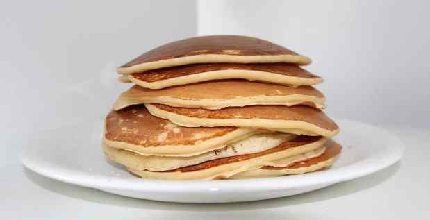 Breakfast Pancakes ready to eat