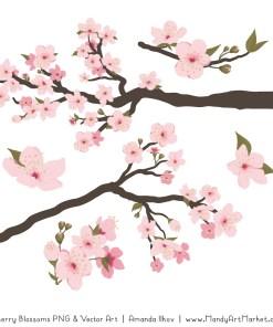 Free Cherry Blossom Clipart 2