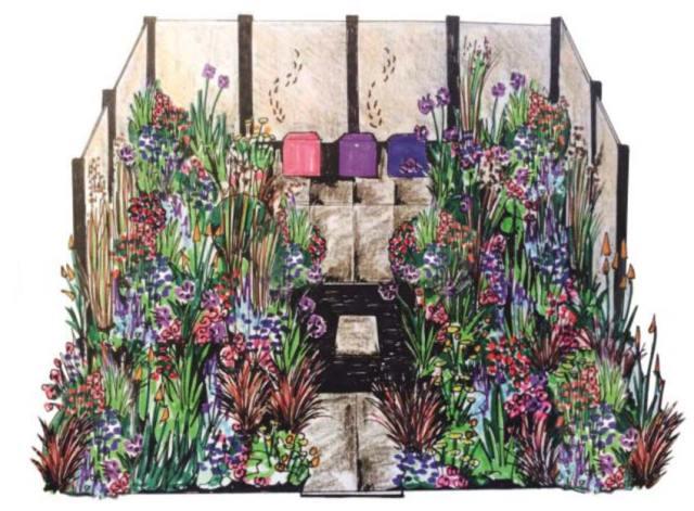 Colour Box Garden