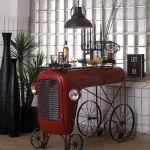 Unique tractor bar