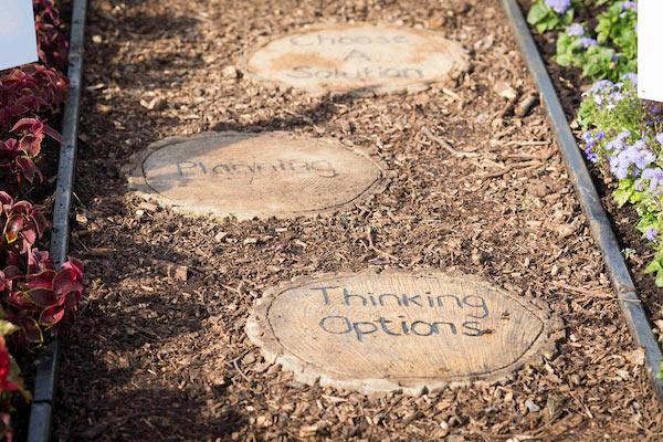 Stop, Think, Change Garden