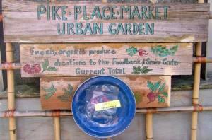 Pike Place Market Urban Garden