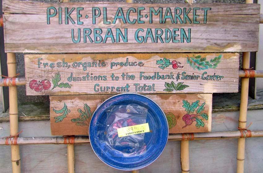 Pike Place Market Community Garden, Seattle