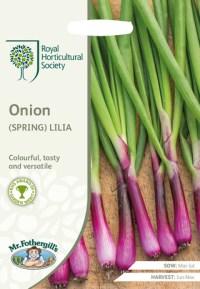 Onion Lilia. Picture; Mr Fothergill's