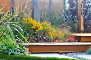 Breathing Space, an autumn 2017 show garden by Nicholas Edward Gardens. Picture; Harrogate Flower Shows