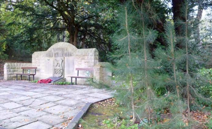 The Durham Light Infantry memorial