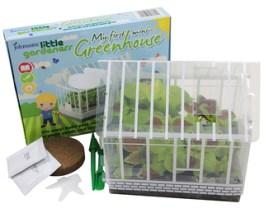 Little Gardeners Mini Greenhouse. Picture; Johnsons