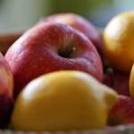 Apples and lemons - key fruity cake ingredients
