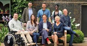 Gardeners' World 2018 presenters. Picture; BBC/Glenn Dearing/Geffrye Museum