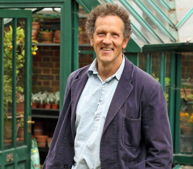 Lead presenter Monty Don. Picture; BBC/Glenn Dearing/Geffrye Museum