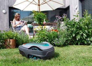 The Sileno robotic lawnmower. Picture; Gardena