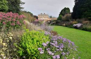 Huge double border at Newby Hall, North Yorkshire. Picture; Newby Hall