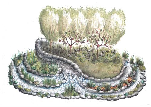 Eden Garden, Yorkshire Garden Designs. Picture; Harrogate Flower Show