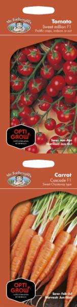 Optigrow Seed Range, Mr Fothergills Seeds