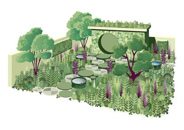 The Seedlip Garden. Picture; RHS MIC