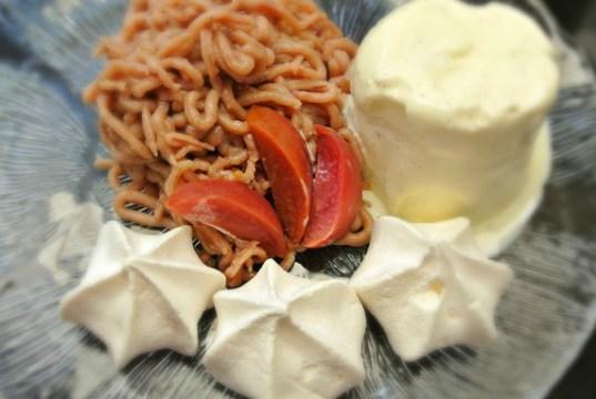 Vermicelli with Redlove Apples recipe. Picture; Lubera
