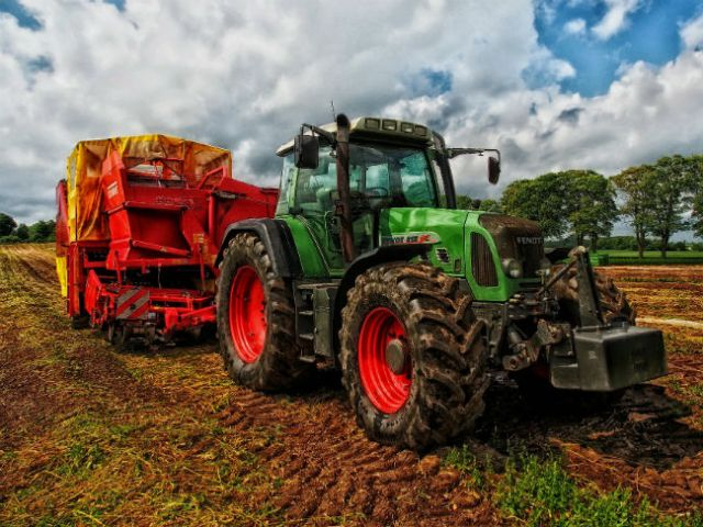 Soil compaction due to constant use of heavy machinery