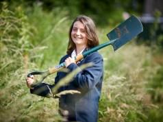 Last year's winner Ellie Micklewright. Picture; RHS/Mark Waugh