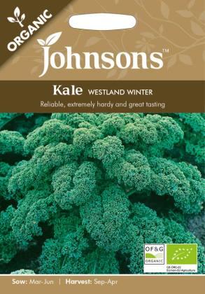 Kale Westland Winter (Organic). Picture; Johnsons